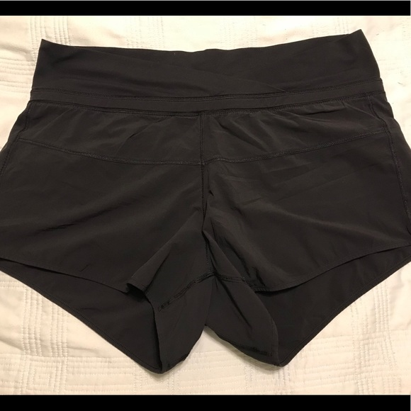 40f7ca9e1 lululemon athletica Pants - Black Lululemon running shorts- women s size 10